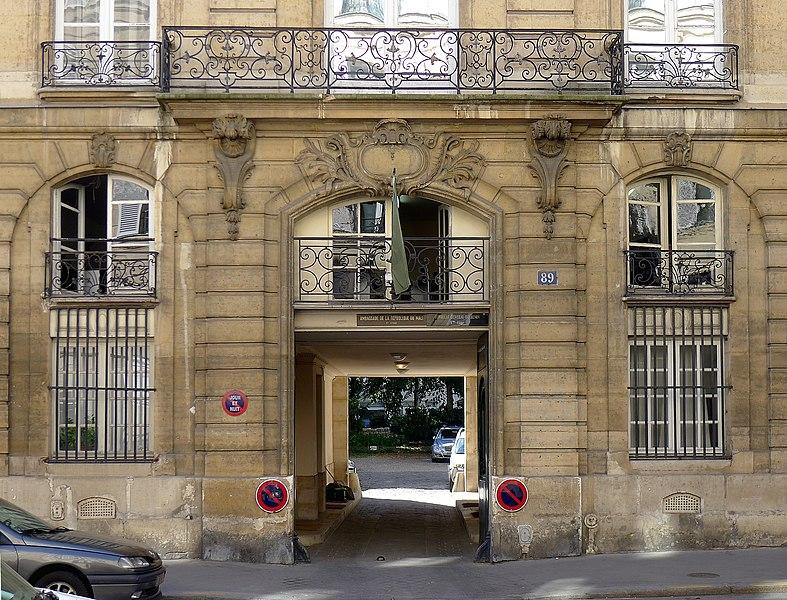 File p1120057 paris vi rue du cherche midi n 89 rwk jpg for Cherche hotel