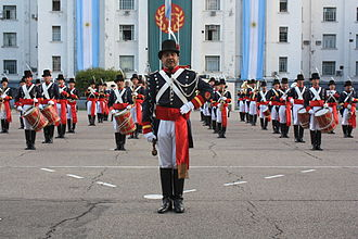 Regiment of Patricians - The band of the Patricians' Regiment in ceremonial uniform