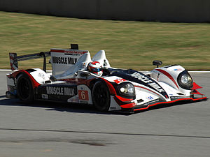 2012 American Le Mans Series - Muscle Milk Pickett Racing won the championship in P1.