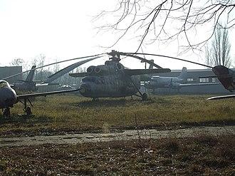 Mil Mi-6 - Ex-Polish Air Force Mi-6 exhibited at Lublinek airfield near Łódź