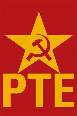 Workers' Party (Spain) - Image: PTE Logo