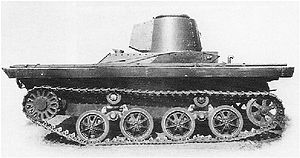 PZInż 130 - The prototype of the PZInż 130 was unarmed and had a temporary mild steel turret installed for trials