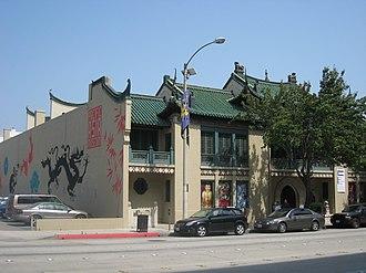 USC Pacific Asia Museum - USC Pacific Asia Museum, exterior.