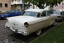 220px Packard_Clipper_Super_1955_Heck packard clipper wikipedia 1954 Packard Clipper Deluxe at crackthecode.co
