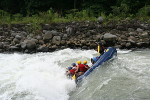 Pacuare River - Rafting on the Pacuare River, one of the main adventure activities of tourism in Costa Rica.