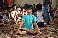 Padmasana - Yoga Class - Chamrail - Howrah 2013-08-24 2027.JPG