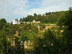 Paisaje del palacio del Generalife.jpg