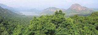 Palani Hills mountain range