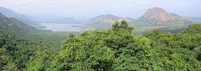 Palni Hills seen from the road leading to Kodaikanal