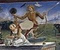 Palazzo schifanoia, salone dei mesi, 05 maggio (f. del cossa e aiuti), trionfo di apollo 02 1.jpg
