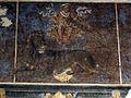 Palazzo schifanoia, salone dei mesi, 07 luglio (maestro dagli occhi spalancati), leone 02.JPG