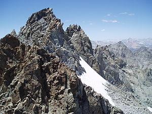 John Muir Wilderness - The Palisade Crest, a major rock-climbing area