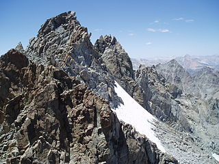 Palisade Crest mountain in United States of America