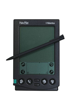 PalmPilot - Palm-Pilot with stylus