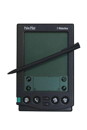 PalmPilot - Palm-Pilot with stylus
