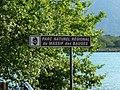Panneau E33a parc naturel régional des Bauges.jpg