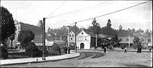 Panoramic view of the Los Angeles Plaza, looking west, ca.1905 (CHS-5081-p).jpg