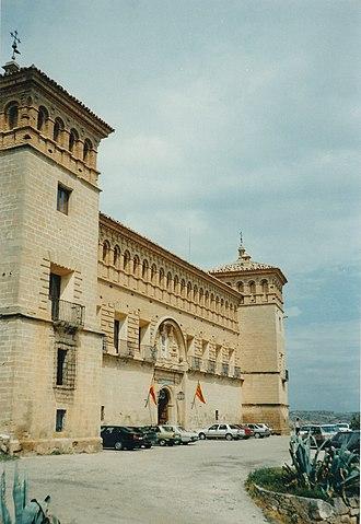 Order of Calatrava - A Calatrava castle in Alcañiz.