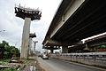 Parama-Park Circus Flyover Under Construction - John Burdon Sanderson Haldane Avenue - Kolkata 2012-07-31 0516.JPG