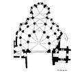 Paris (75), prieuré Saint-Martin-des-Champs, plan de l'abside.png