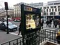 Paris - Metro - Panneau publicitaire hors service.jpeg