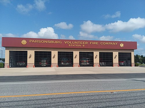 Parsonsburg mailbbox