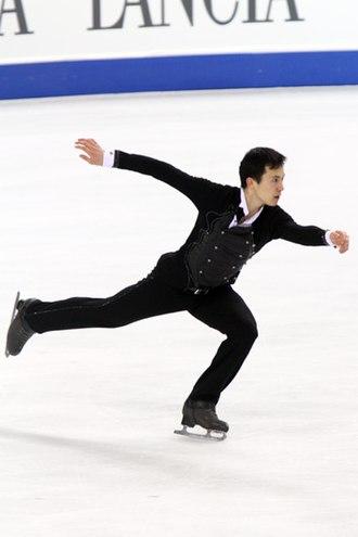 Patrick Chan - Chan at the 2010 World Championships