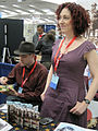 Paul Guinan & Anina Bennett at WonderCon 2010 2.JPG
