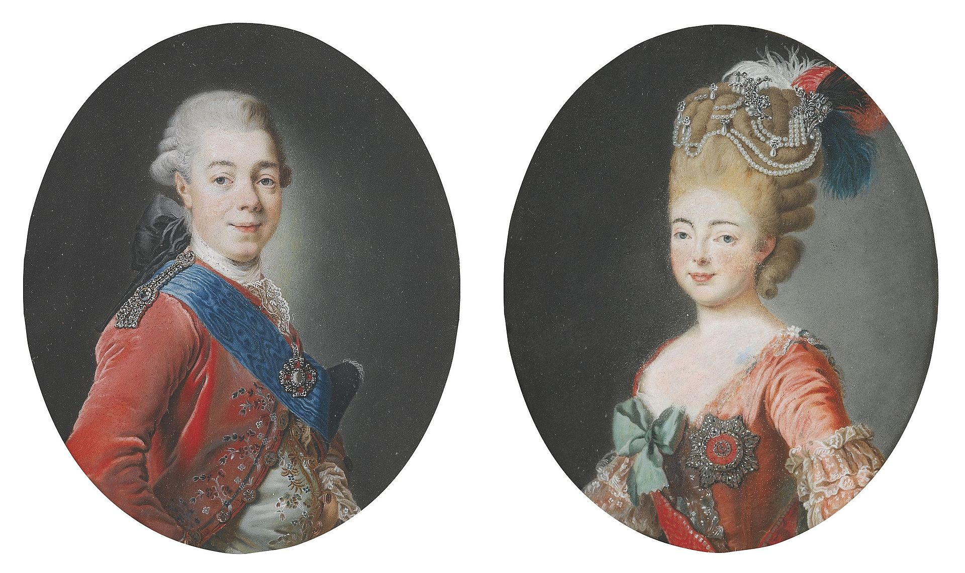 Paul I with wife after A.Roslin (18th c., priv.coll).jpg