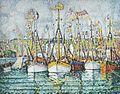 Paul Signac Bénédiction des thoniers à Groix.jpg