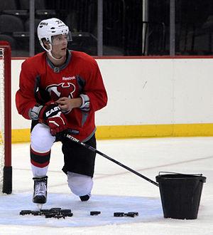 Pavel Zacha - Image: Pavel Zacha New Jersey Devils