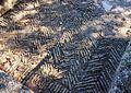 Paviment d'opus spicatum, castell de Xàtiva.JPG
