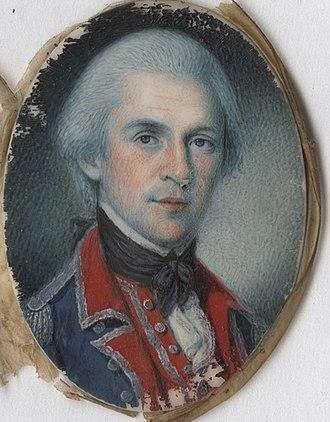 Walter Stewart (general) - Walter Stewart, miniature portrait by Charles Willson Peale, 1781