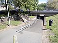 Pedestrian underpass under A68 in Jedburgh.jpg