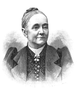 Peggy Hård - Peggy Hård. Xylography  1893.