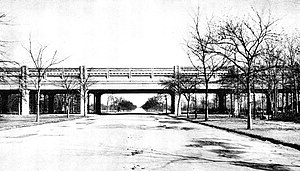 Pelham Parkway (neighborhood), Bronx - Historical photo of the IRT White Plains Road Line at Pelham Parkway