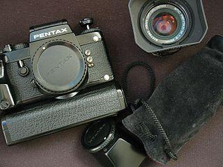 Pentax LX camera model