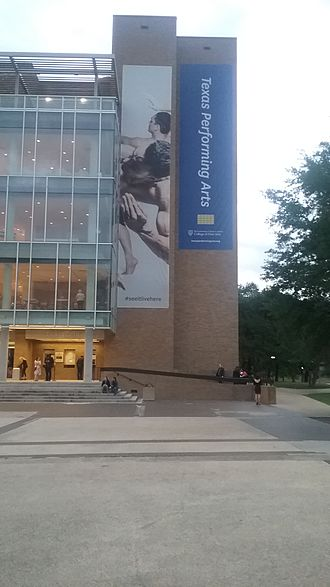 University of Texas Performing Arts Center - The Bass Concert Hall at the University of Texas at Austin.