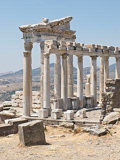 Pergamon ancient Greek city in modern-day Turkey