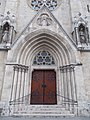 Perpetual Adoration Church, portal. - 2016 Budapest.jpg