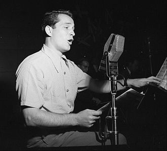 Crooner - Perry Como, October 1946