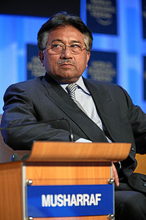 Pervez Musharraf former dictator and 10th President of Pakistan
