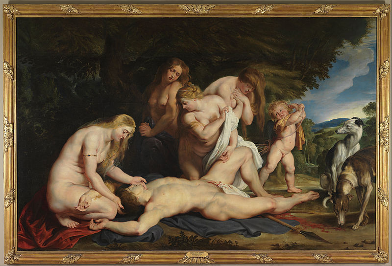 File:Peter Paul Rubens - The Death of Adonis (with Venus, Cupid, and the Three Graces) - Google Art Project.jpg