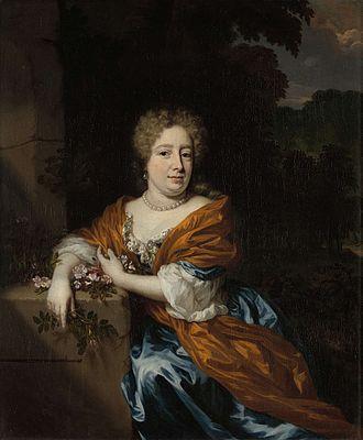 Petronella Dunois - Portrait by Nicolaes Maes