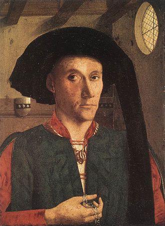 Exhibition of National Portraits - Image: Petrus christus, ritratto di Edward Grimston
