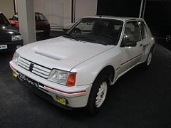 peugeot 205 turbo 16 wikip dia. Black Bedroom Furniture Sets. Home Design Ideas