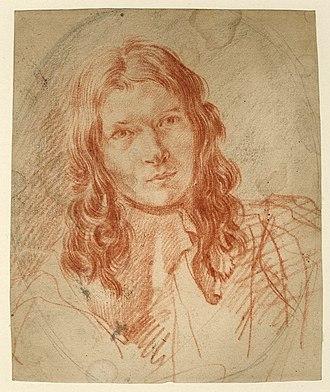 Philips Wouwerman - Self-portrait of Wouwerman