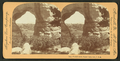 Phoebe's Arch, Palmer Lake, Colorado, U.S.A, from Robert N. Dennis collection of stereoscopic views.png