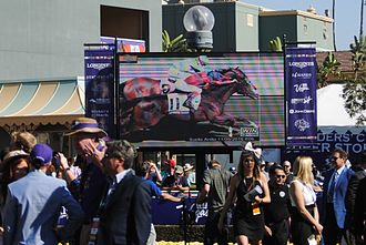 2016 Breeders' Cup - Image: Photo Finish In FMT