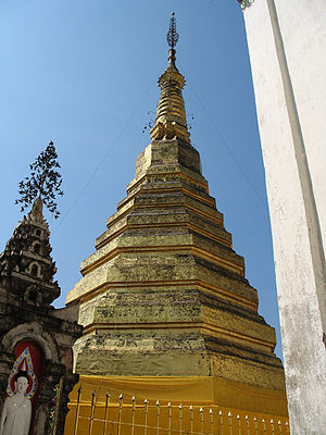 Phrae Province - Phra That Cho Hae, the symbol of Phrae Province